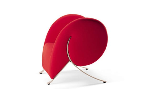 red armchair design ideas