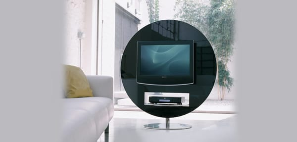 Futuristic Entertainment: The Vision TV Stand