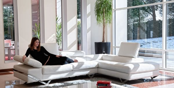 moveable arms sofa