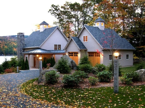 autumn landscaping curb appeal