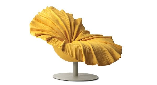 flower shaped chair