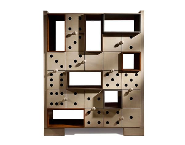 Epitome of Ingenious: The Domino Cabinet by Lola Glamour