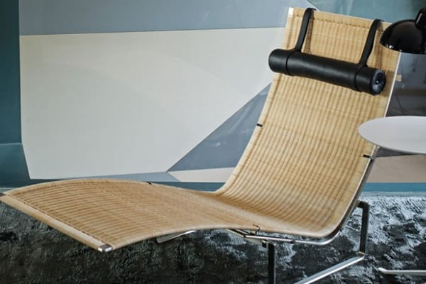 rattan lounger design