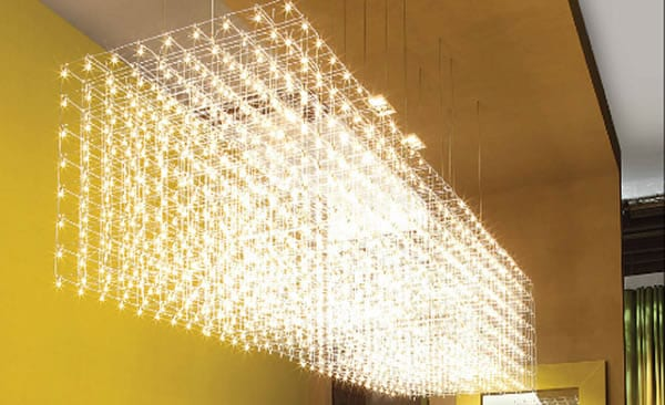 large Chandelier by Baxter
