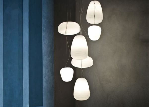 Rituals suspended lighting by Foscarini