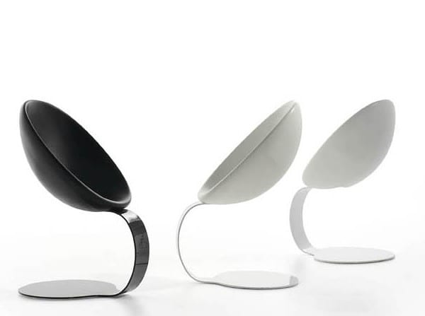 sculptural chair design
