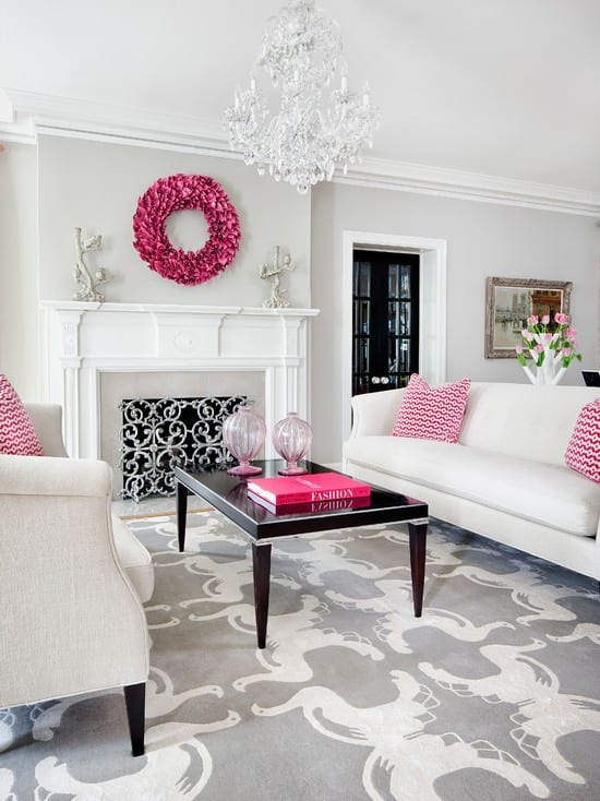 Feminine Formal Living Room