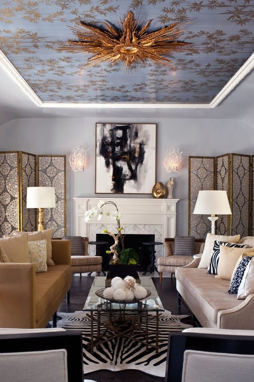 Eclectic Formal Living Room