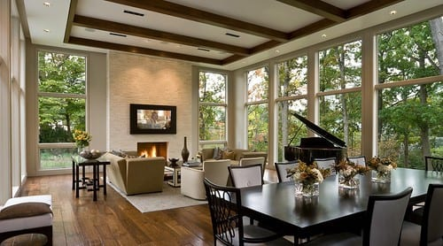 Piano in a Formal Living Room