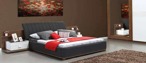 Get a Good Night's Rest with the Como Bed by Alfemo