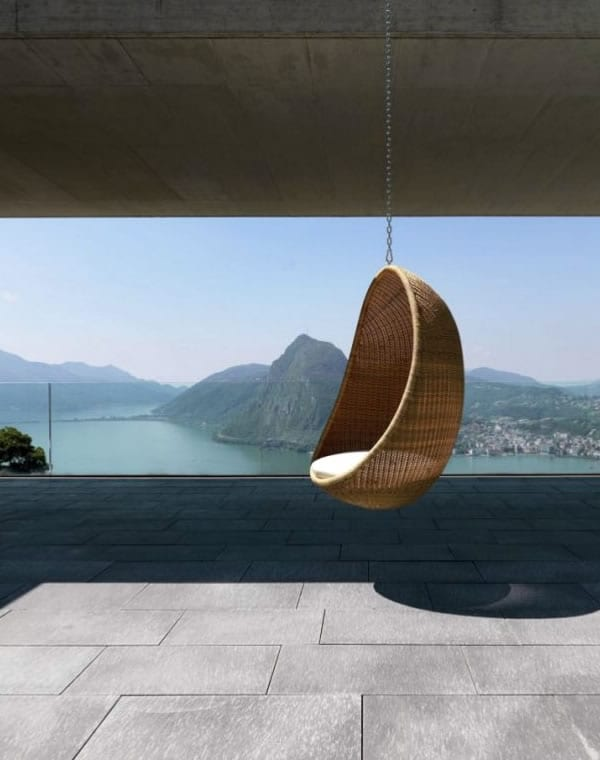 Egg Armchair: Floating on a Breeze by Bonacina