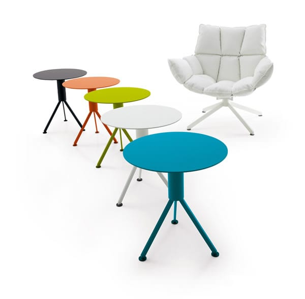 outdoor colorful tables