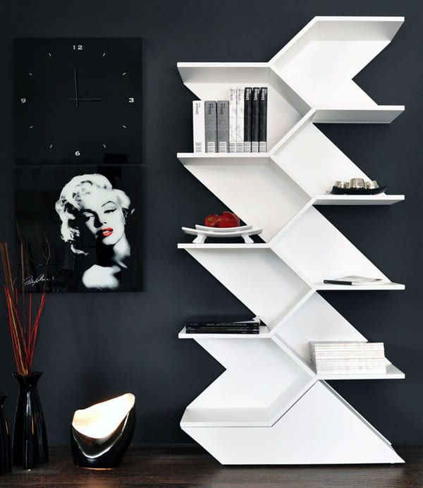 modern book storage ideas