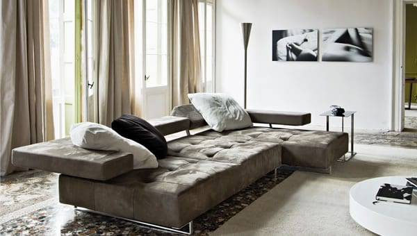 "Loft Sofa: A New ""Platform"" for Relaxation"