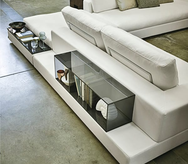 sectional couch with storage