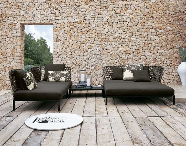 Lounge Indoors or Out with the Ravel Sectional Sofa
