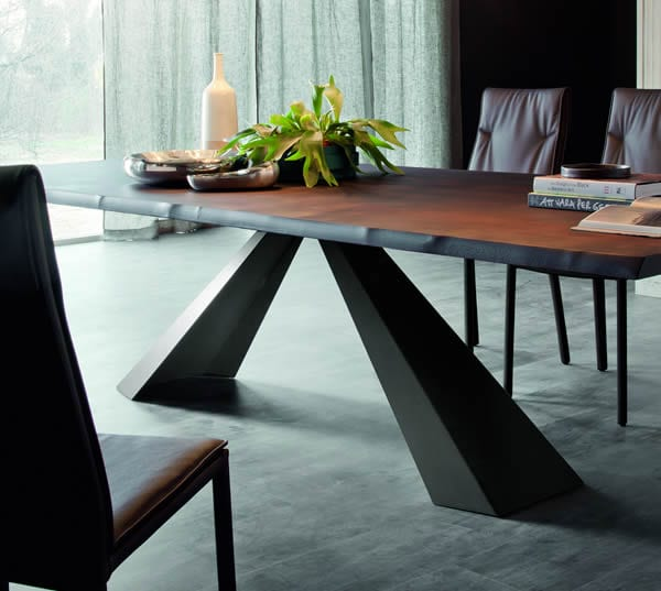 dramatic dining table