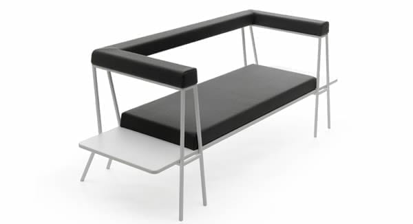 Flip Desk/Sofa from Campeggi