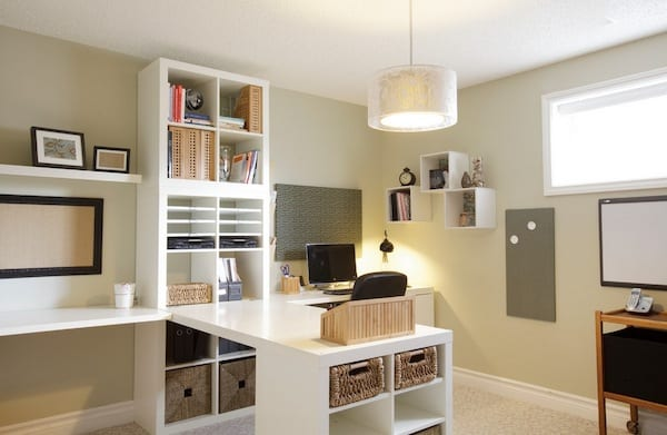 home office organization idea
