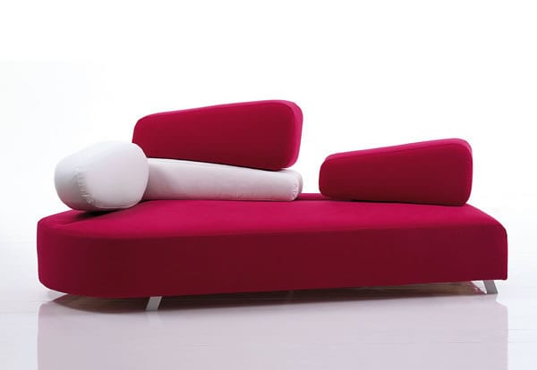 Mosspink Sofa by