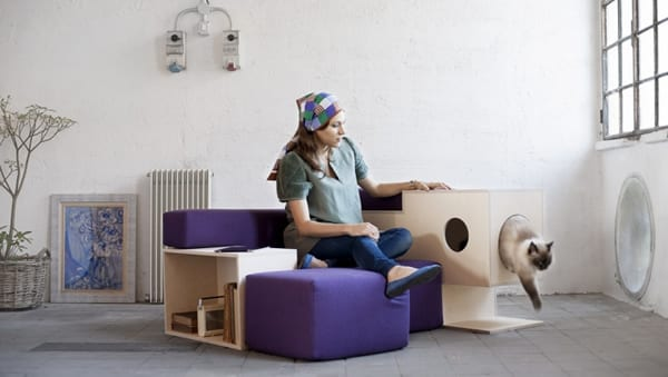 Nestore Pet Friendly Armchair from Formabilio