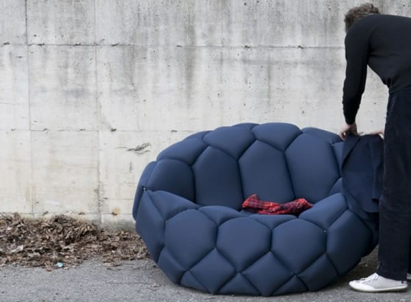 The Quilt Sofa and Armchair by Ronan & Erwan