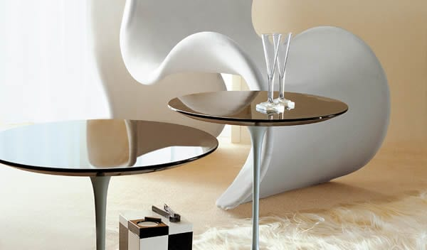 The Saar Small Table by Besana