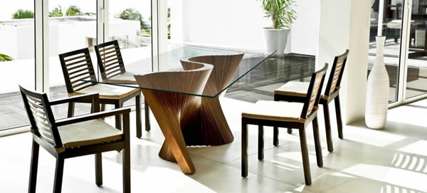 Wave Table by Kenneth Cobonpue