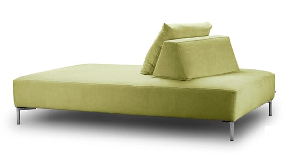 Sophisticated chaise lounge