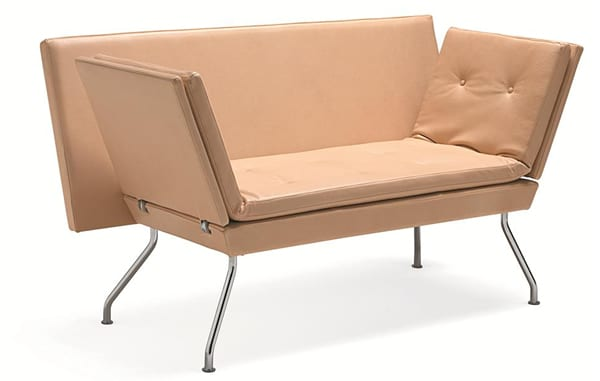 Avec sofa and bench by Materia