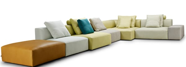 The Block Sofa by Eilersen