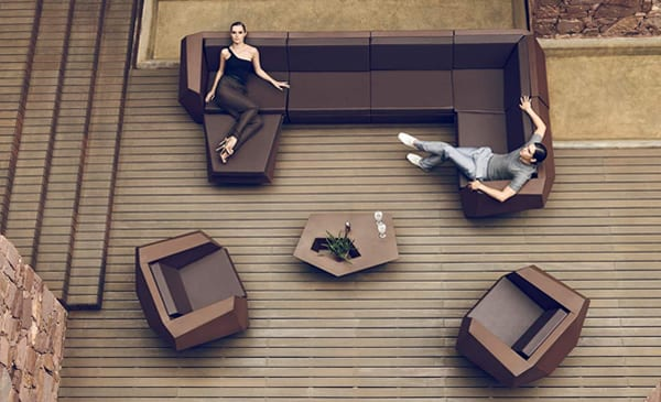 Faz Outdoor Seating Collection