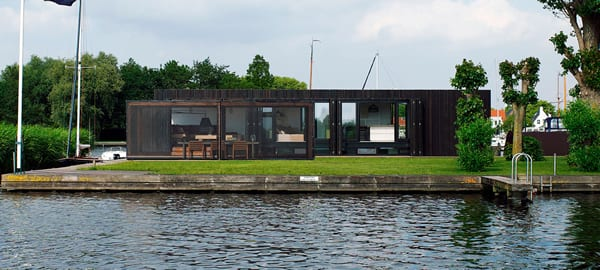Floating Home by Piet Boon