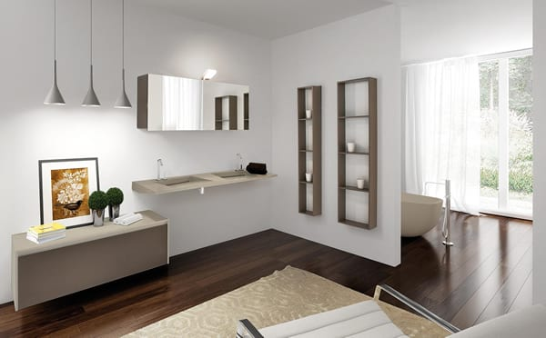 Flow Bathroom by Lasa Idea