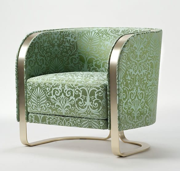 Metallic-Structure-Luxury-Armchair