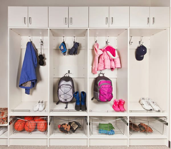 Kid Friendly Mudrooms