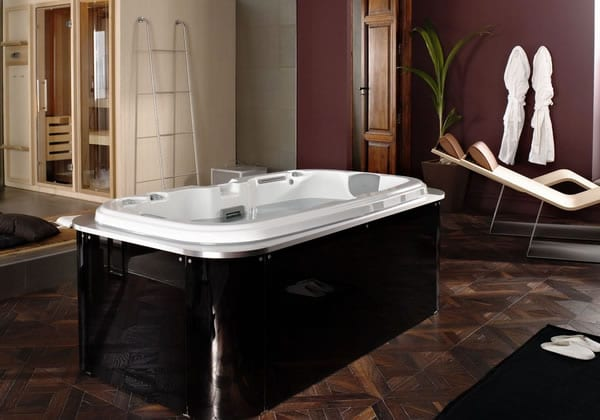 Luxurious finishes spa