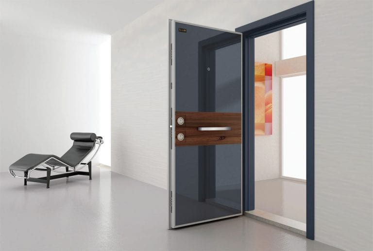 Contemporary Security Door Design