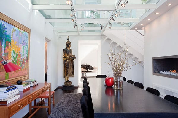 Dining Rooms with Skylights