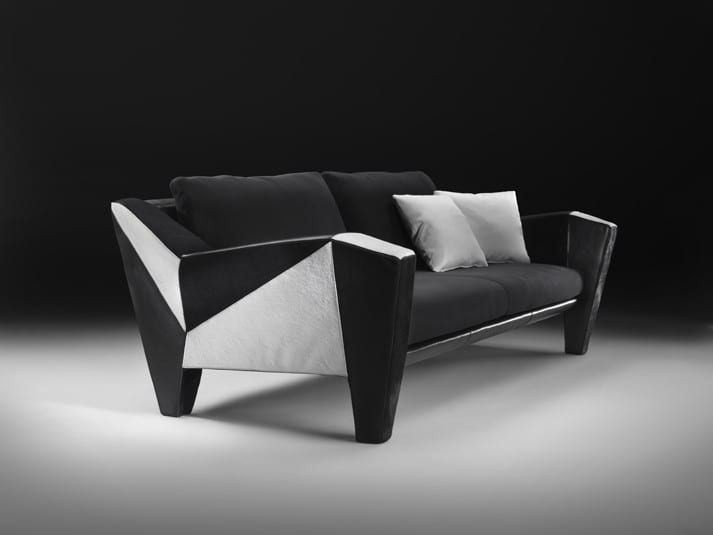 black-and-white-leather-sofa