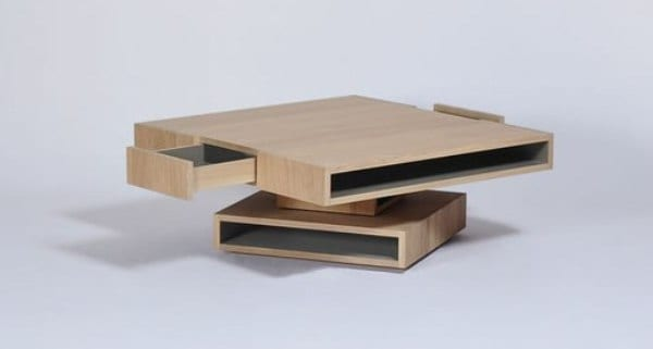 Cubocarré Coffee Table by Les Ateliers du Drugeot