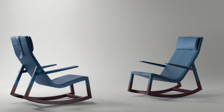 Don'do Rocking Chair by Poltrona Frau Group