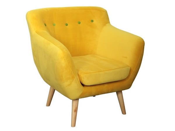yellow Armchair