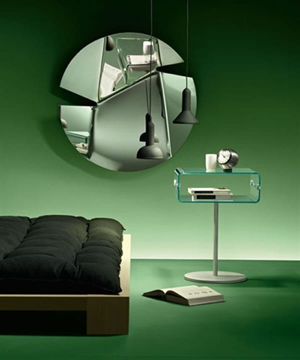 Hasami Mirror by Fiam