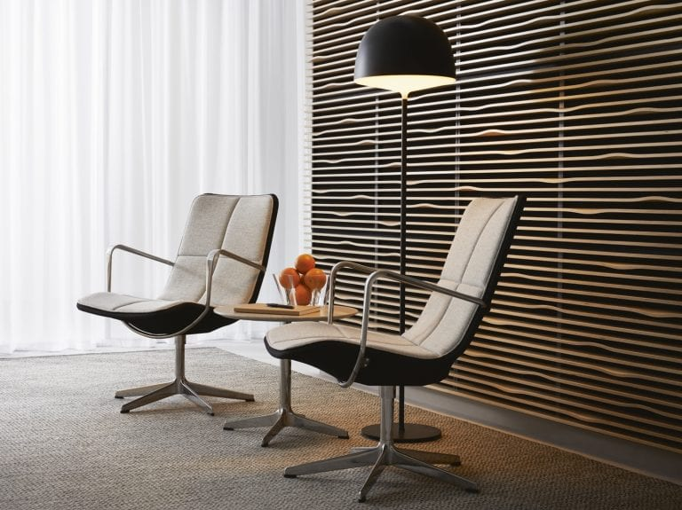 Kite Low Swivel Chair by Swedese