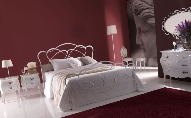 Italian metal bedroom furniture