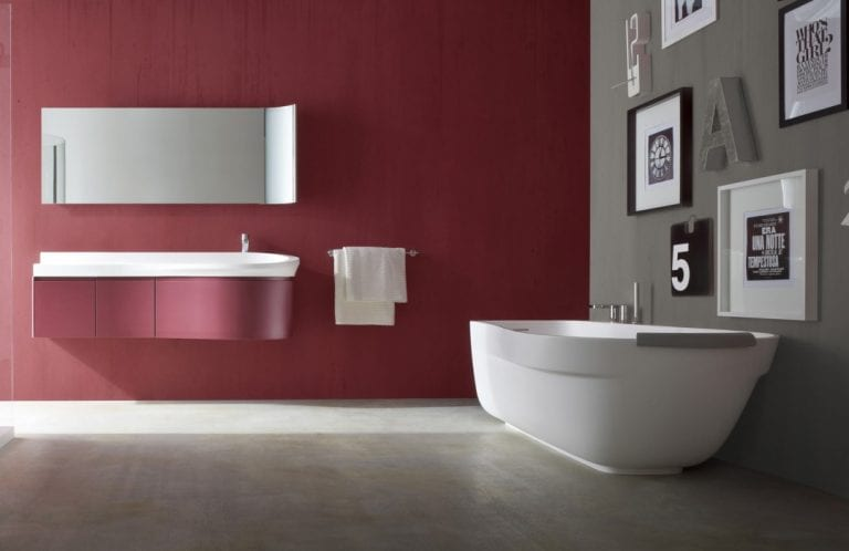 High-end bathroom design by Pininfarina
