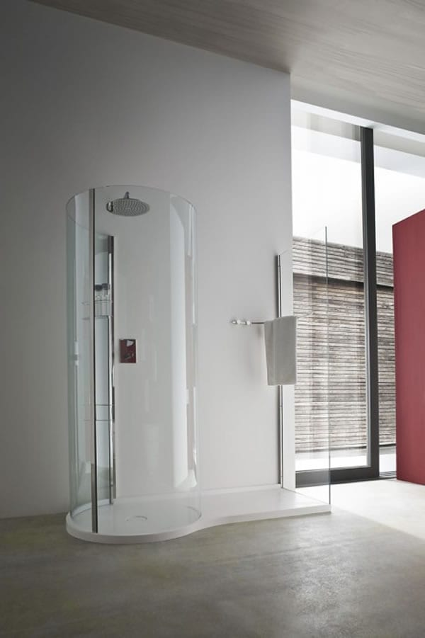 Pinifarina modern shower cabin design