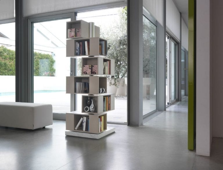 Twister Bookcase by Klab