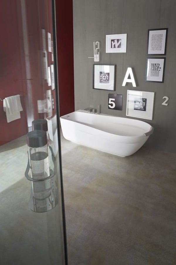 contemporary italian bathroom designs